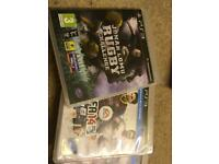 PS3 games: Jonah long rugby challenge and fifa 14