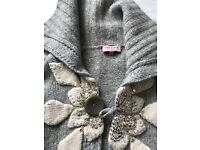 Set of 3 designer ladies cardigans size 8. Ted Baker Burberry and Naff naff. Great bargain today