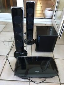 Samsung HT-X720G Home Cinema System (1 audio lead missing)