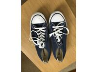 Converse All Star Trainers - Navy Size 9