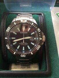 Men's citizen royal marine commando limited edition watch