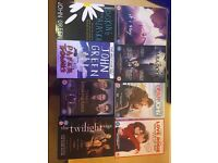 DVD and Book Collection (Twilight, Love Rosie, Paper Towns, and more!)