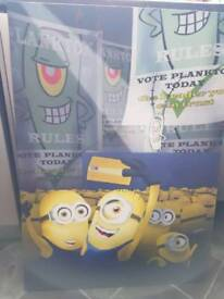 MINIONS LARGE CANVAS PICTURE