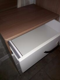 Starplan chest drawers & 2 bedside units perfect condition