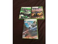 Xbox 360 car racing games set 3