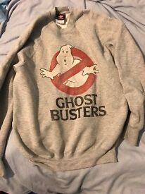 Womens Ghost Busters Jumper Size Small