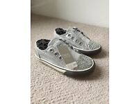 Next trainers for girls - size UK 4 (20.5) - Brand new with tags