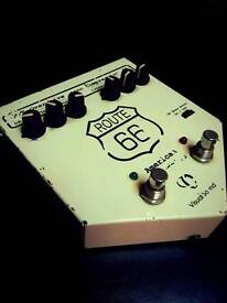 Visual sound Route 66 (v1) Overdrive & Compression pedal