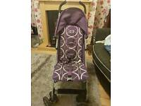 O Baby stroller and raincover