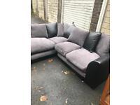 Lovely compact corner sofa