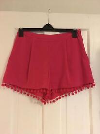 Size 12 Asos Pink Shorts.