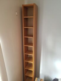 2 x ikea cd shelves