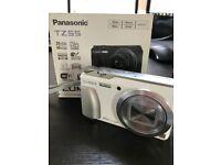 Panasonic Lumix DMC-TZ55 White Compact Digital Camera