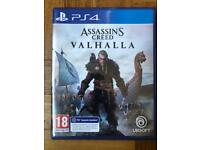 PS4 assassins creed Valhalla with PS5 upgrade