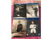 Daniel Craig's Bond on Blu Ray