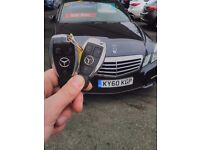 Mercedes remote key fob replacement,repair service. Auto Locksmith Newcastle