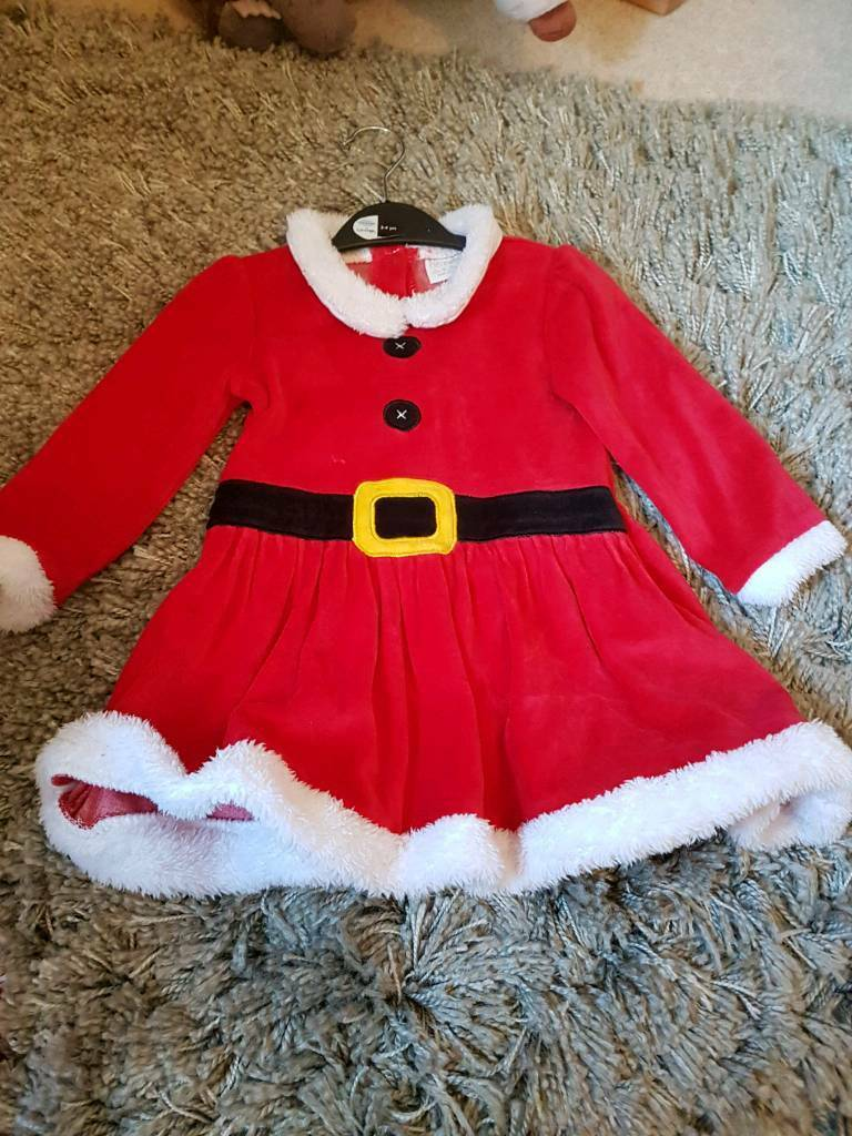 Mrs clause dress
