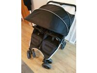 RED KITE PUSH ME TWINI DOUBLE PUSHCHAIR - EXCELLENT CONDITION!