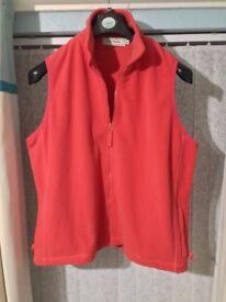 Amy Moore Red Zip Up Fleece - XL