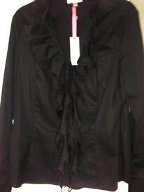 Ladies Black Blouse - new