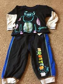 Boys monsters inc outfit 6-9 months