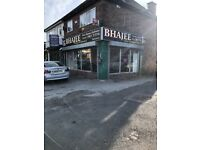 Indian takeaway business for sale in Yardley