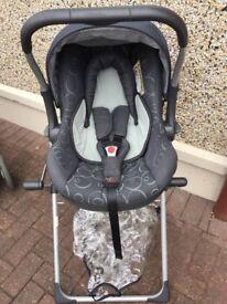 Silvercross Pram and Baby Car seat