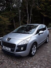 Peugeot 3008 1.6 Petrol. Ideal family car in great condition. Mot'd until March 18.