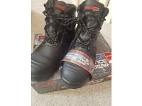Mens Blackrock Advance Waterproof Steel Toe Boots Size 10