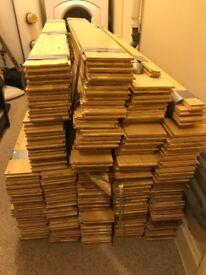 Laminate Floor (Bamboo) - USED