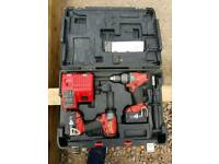 Milwaukee 18 v fuel combi drill & screw gun