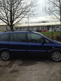 Vauxhall zaflra 2.0 Dti driver lovely with 11 months mot