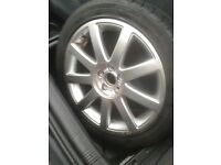 Audi A3 sport 17 inch alloy wheel and tyre, new never used from 2003 model
