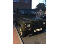 Land Rover defender 200tdi long mot