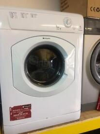 White Hotpoint 7kg dryers good condition with guarantee bargain