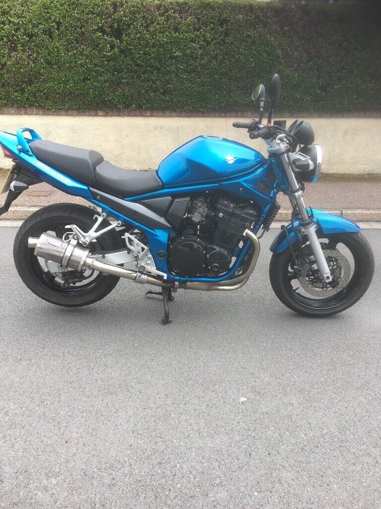 Suzuki Bandit 650 S GSF650S 2010 60 ABS A2 license 26000