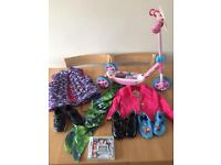Girls bundle of scooter,jackets,shoes