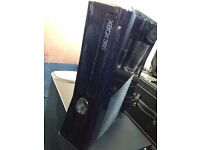 Xbox 360 Slim 250GB Console Only With Power Cable