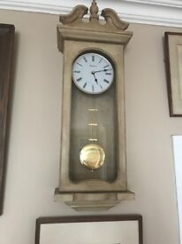 Beautiful pendulum wall clock
