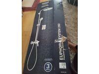 GROHE Euphoria 260 Single-Lever Shower System, Chrome - BNIB