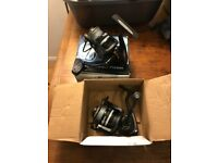 Two new and unused coarse fishing reels