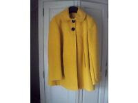 Florence & Fred Mustard Jacket