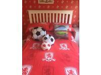 Boys football bedroom MIDDLESBROUGH
