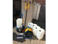Pure water window cleaning system £650.00