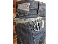 VOI Men's Jeans Blue Grey Ronaldo Original 88-10 Design