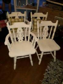 2 chairs needs a repaint offers please