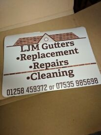 Gutter cleaning/replacement/repairs fully insured
