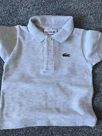 Baby boys Lacoste tshirts