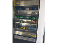 Details about Display Fridge Cake / Drink / Snack Display