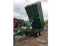 Agricultural Trailer 16ton Excellent Condition